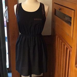 Black Dress with Rose Gold Sequins from Soparano